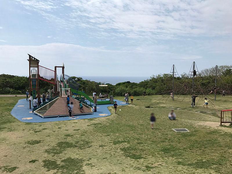 公園からの眺めは最高