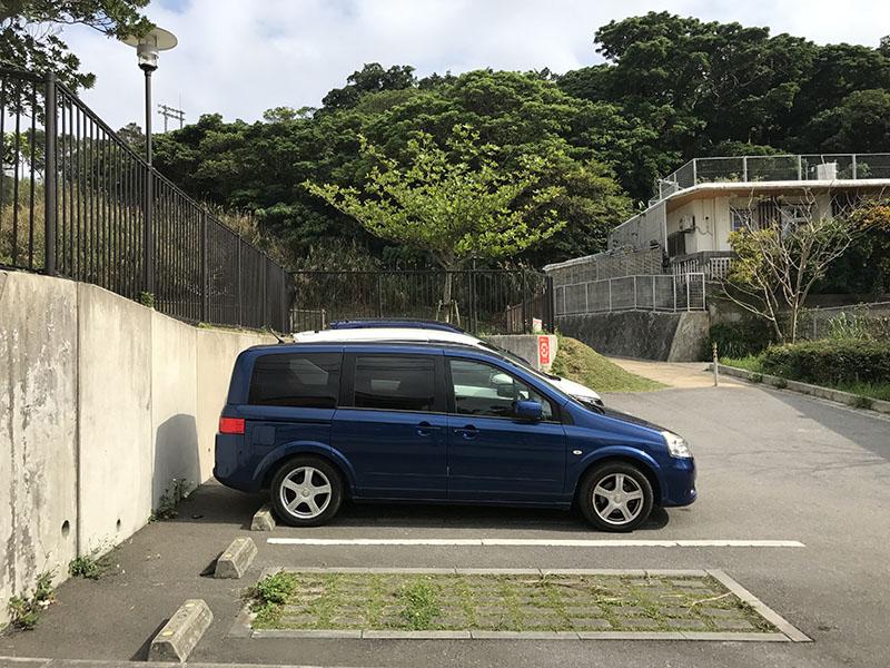 はえるん公園の無料駐車場