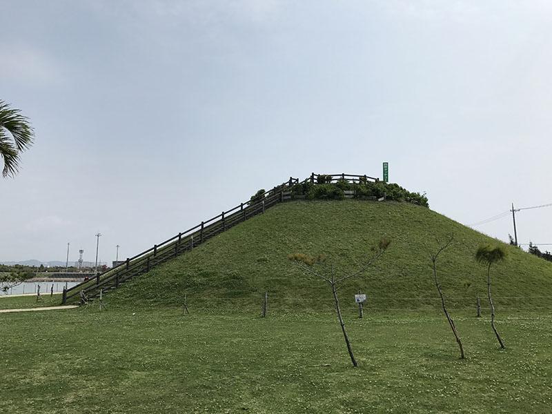 東崎都市緑地の西原タッチュー