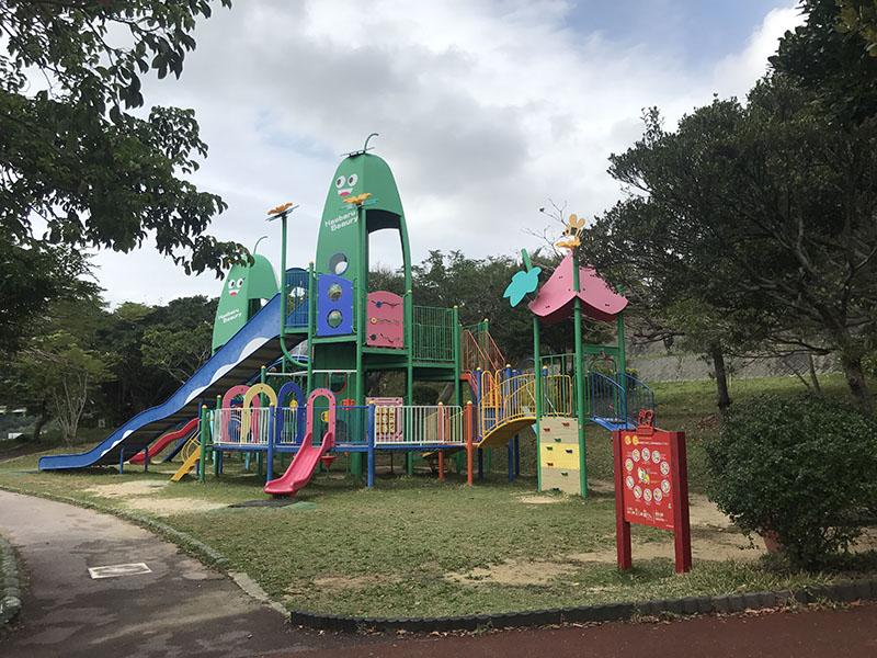 宮城公園のコンビネーション遊具