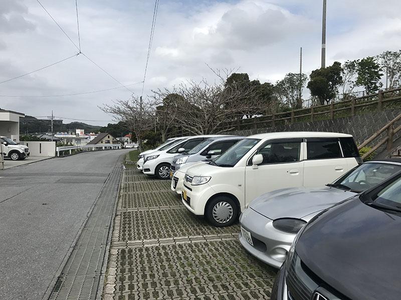 宮城公園の無料駐車場