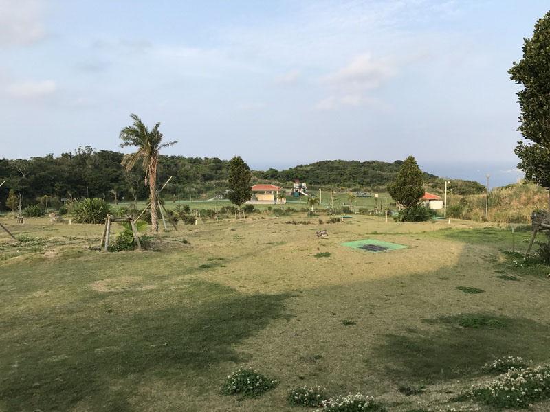 パークゴルフ場から眺める公園