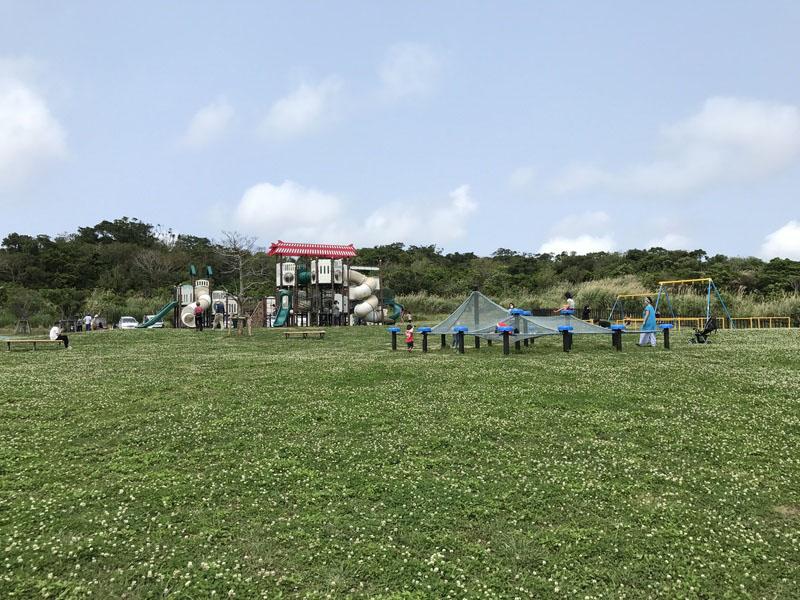 大里城址公園の全景
